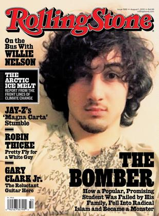 Rolling Stone Cover 2013